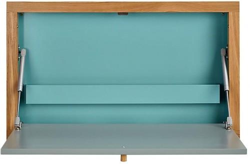 Modrý vyklápací stôl Woodman Banti