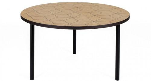 Okrúhly príručný stolík Woodman Arty Triangle 70
