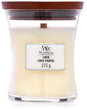 WOODWICK Linen Medium Candle 275 g