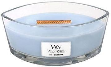 WOODWICK Soft Chambray Hearthwick Candle 453,6 g