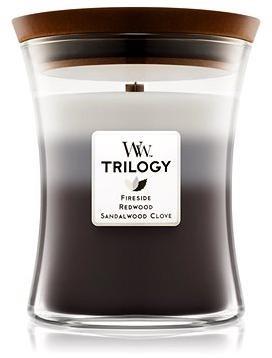 WOODWICK Trilogy Warm Woods Medium Candle 275 g
