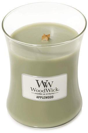 WoodWick Vonná sviečka váza Applewood 275 g