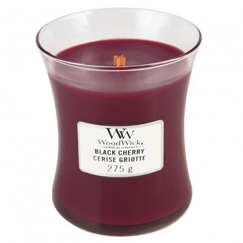 WoodWick Vonná sviečka váza Black Cherry 275 g
