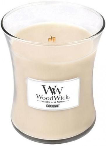 WoodWick Vonná sviečka váza Coconut 275 g