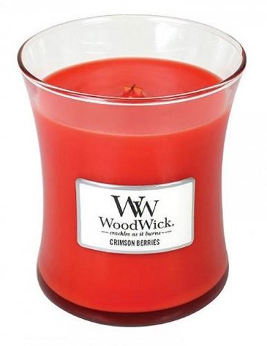 WoodWick Vonná sviečka váza Crimson Berries 275 g