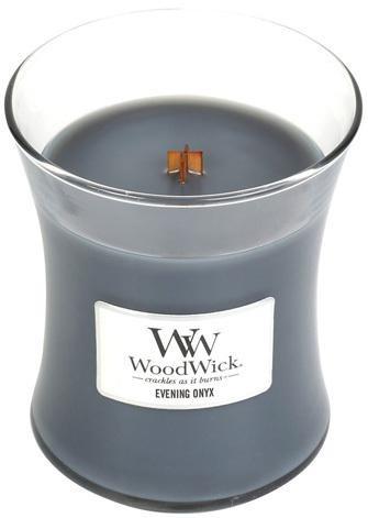 WoodWick Vonná sviečka váza Evening Onyx 275 g
