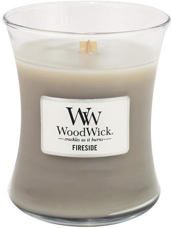 WoodWick Vonná sviečka váza Fireside 275 g