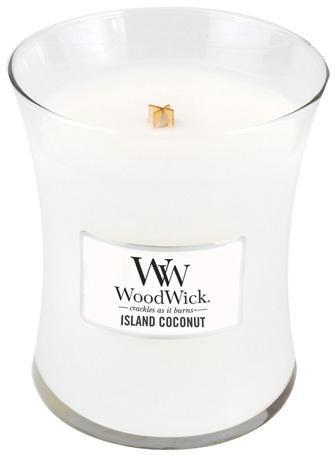 WoodWick Vonná sviečka váza Island Coconut 275 g