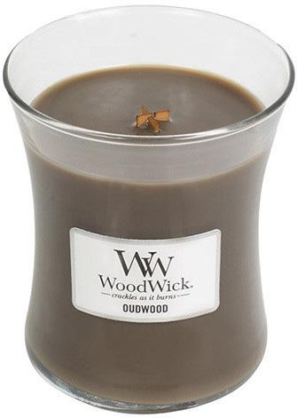 WoodWick Vonná sviečka váza Oudwood 275 g