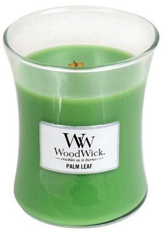 WoodWick Vonná sviečka váza Palm Leaf 275 g