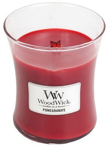 WoodWick Vonná sviečka váza Pomegranate 275 g