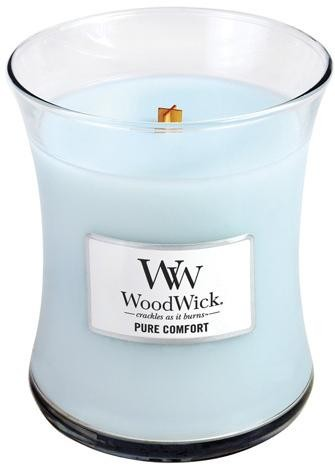 WoodWick Vonná sviečka váza Pure Comfort 275 g