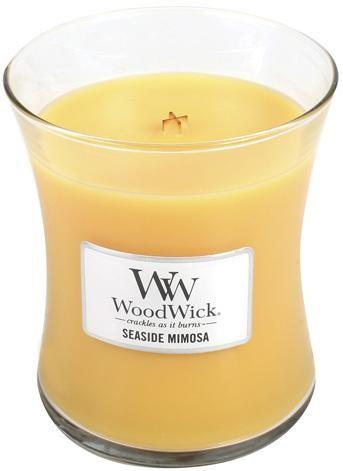 WoodWick Vonná sviečka váza Seaside Mimosa 275 g