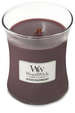 WoodWick Vonná sviečka váza Spiced Blackberry 275 g