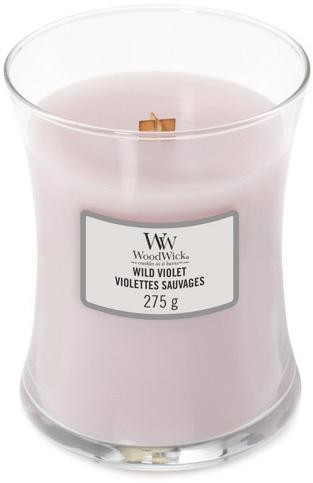 WoodWick Vonná sviečka váza Wild Violet 275 g