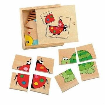 Woody Minipuzzle - Beruška