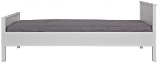 Biela posteľ Jade 90x200cm