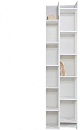 Biely prídavný modul ku knižnici WOOOD Grenen