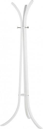 Biely stojací vešiak z brezového dreva WOOOD Wiek