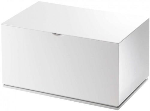 Biela škatuľka do kúpeľne YAMAZAKI Veil