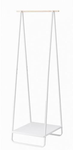 Biely vešiak YAMAZAKI Tower Hang Rack