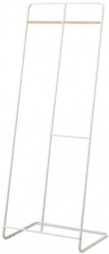Biely vešiak YAMAZAKI, výška 163 cm