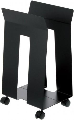 Čierny stojan na kolieskach YAMAZAKI Frame