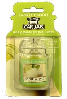 YANKEE CANDLE Car Jar - Vanilla Lime