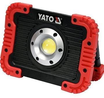 Yato Nabíjecí COB LED 10W svítilna a powerbanka