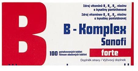 B-Komplex forte Zentiva tbl flm 1x100 ks