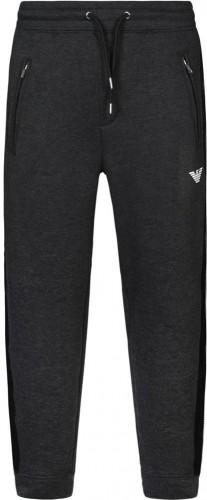 Emporio Armani Panelled Joggers Grey Colour: GREY, Size: SMALL