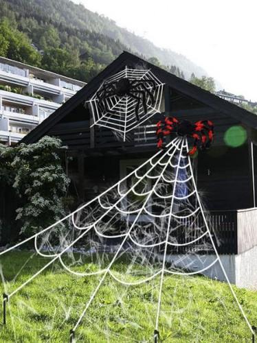 Milanoo Halloween Accessories Spider Web Holidays Cosplay Costume Accessories