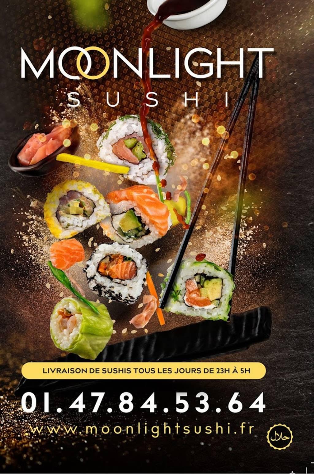 Livraison Sushi Nuit Paris Moonlight Sushi - De 9h à 9h