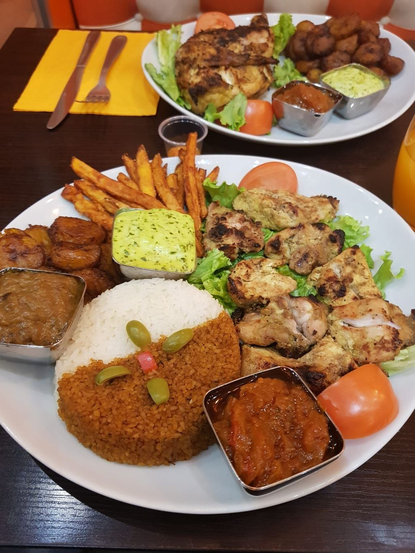 Afrik N Fusion Restaurant Africain Villetaneuse A Villetaneuse Mon Resto Halal