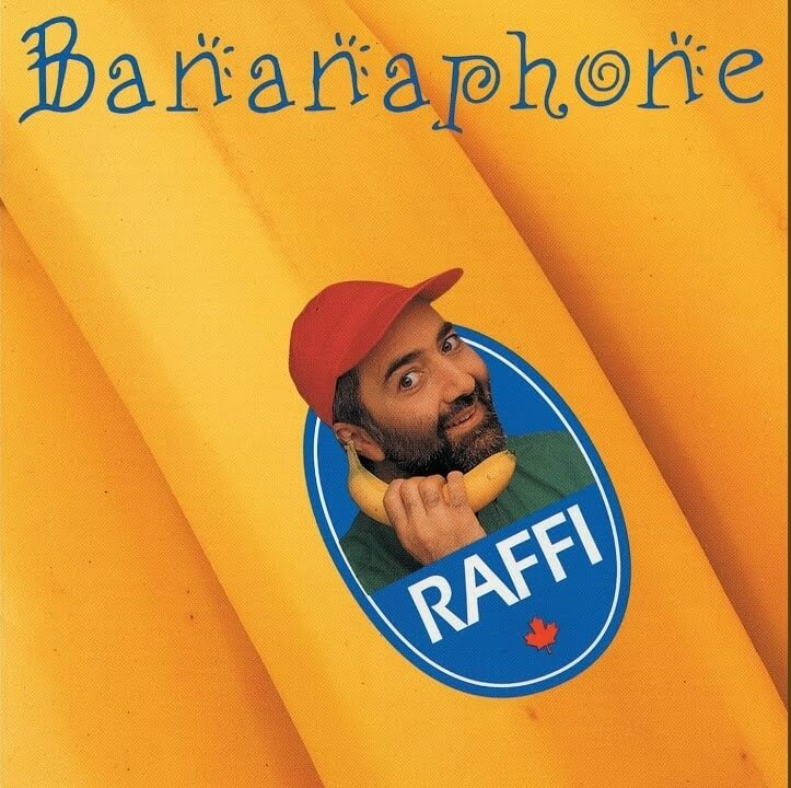 An album art of Banana Phone song by Ruffe.