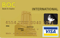 BOC Visa Gold Card