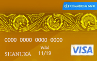 Commercial Bank Gold Card