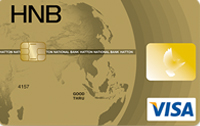 HNB Visa Gold Card
