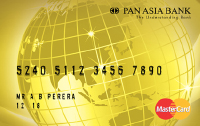 Pan Asia Gold Card