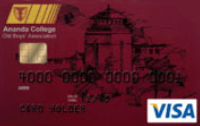 Ananda College Old Boys Association Visa Standard Credit Card