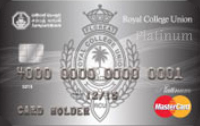 Royal College Union MasterCard Platinum Credit Card
