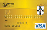 St. Thomas College Old Boys Association Visa Gold Credit Card