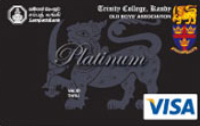 Trinity College Old Boys Association Visa Platinum Credit Cards