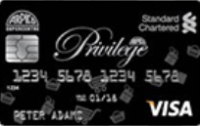 The Arpico Privilege Platinum Card