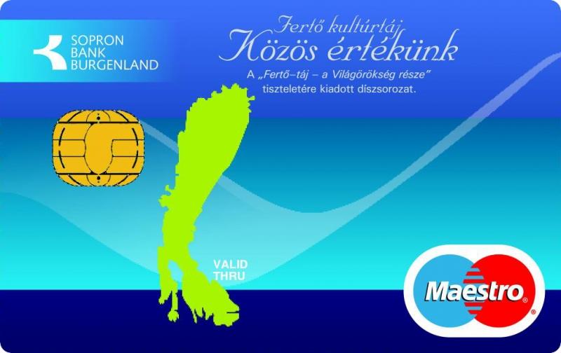 Sopron Bank Maestro (nem dombornyomott)