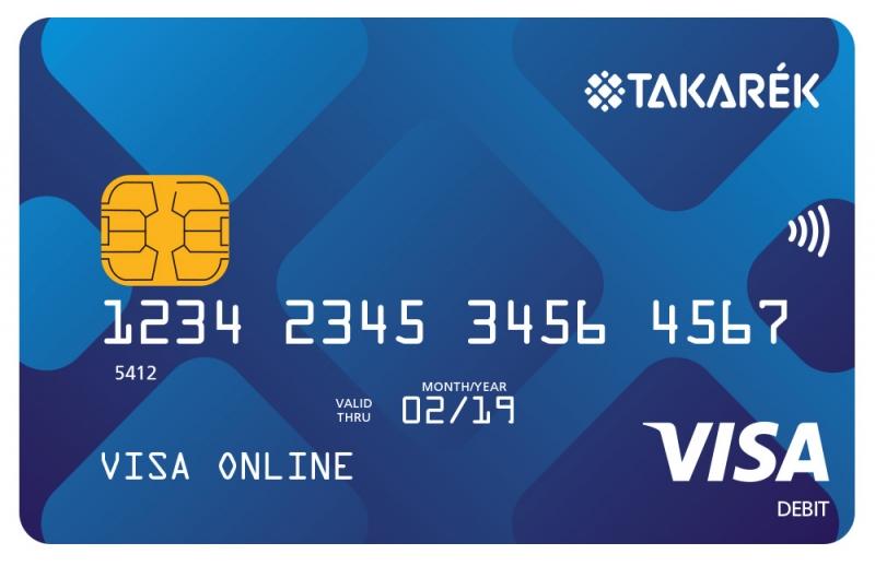 Pátria Takarék Visa Online (nem dombornyomott)