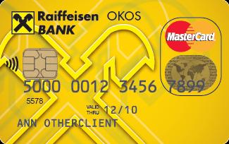 Raiffeisen Start OKOSkártya (nem dombornyomott)