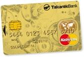 MasterCard Gold Érintő (dombornyomott)