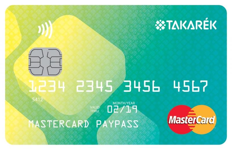 TakarékPont MasterCard PayPass Unembossed (nem dombornyomott)