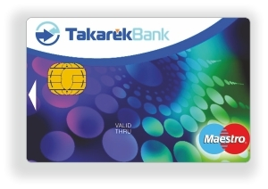 TakarékPont MasterCard Unembossed PayPass (nem dombornyomott)